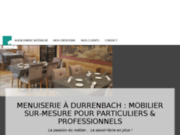 Entreprise de menuiserie à Durrenbach