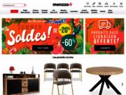 screenshot https://www.menzzo.fr/ meuble design unique