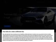 screenshot http://www.mercedes.fr MERCEDES BENZ