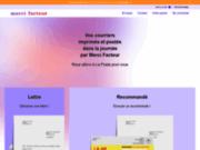 screenshot http://www.merci-facteur.com merci-facteur