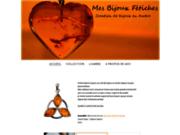 screenshot http://www.mesbijouxfetiches.com/ mes bijoux fetiches - pendentif or blanc - pendentif or jaune