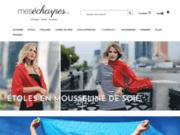screenshot http://www.mesecharpes.com étole