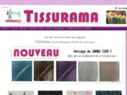 screenshot http://www.mestissus.net/ Vente de tissus au mètre.