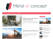 screenshot http://www.metaletconcept.com metal  concept - escalier, mezzanine, garde-corps...