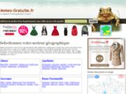screenshot http://www.meteo-gratuite.fr meteo gratuite en france