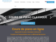screenshot https://www.methode-bernachon.fr/la-methode/cours-de-piano-interpretation jouer du piano