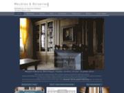 screenshot http://meublesetboiseries.com ebeniste bois et fabrication dressing sur mesure par meubles et boiseries