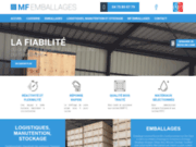 MF Emballages: Caisse en bois et Emballage industriel en Drôme et Ardèche