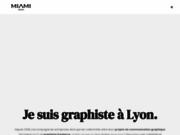 screenshot http://www.miamidesign.fr graphiste freelance