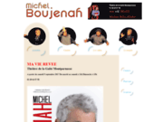 screenshot http://www.michelboujenah.com le site officiel de michel boujenah