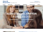 screenshot https://www.michelgriffon-allianz.com agent d'assurance Michel Griffon
