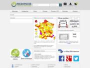 MICROPUCES le premier importateur et distributeur Français des vitres tactiles  pour nos tablettes low cost !
