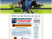 screenshot http://www.microsupport.fr dépannage informatique