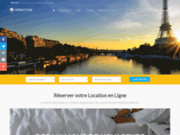 screenshot http://www.milleetunparis.com mille et un paris : location appartements meublés
