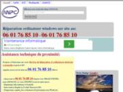 screenshot http://mipc.fr dépannage informatique