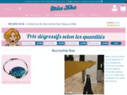 screenshot http://www.misskha.fr miss kha, accroche sac porte sac