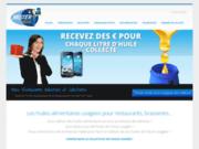 screenshot http://www.mister-collect.com Collecte de vos huiles alimentaires usagées