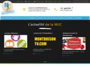 screenshot http://www.mjc-montbrison.com/ MJC du Montbrisonnais