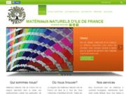 screenshot http://www.mnidf.fr les matériaux naturels d'ile de france