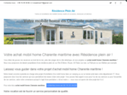 Achat vente mobil home et terrasse pour mobil home Charente Maritme