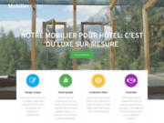 screenshot http://www.mobilier-hotel-bar-restaurant.com Mobilier restaurant