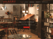 screenshot http://www.mobilier-industriel.com spécialiste du mobilier design industriel.