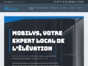 screenshot http://www.mobilys.fr mobilys, monte escalier et scooter de mobilité