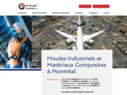 screenshot https://www.modelagecanada.com/ Modelage Canada Moules industriels et Matériaux Composites