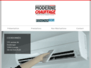 screenshot http://www.moderne-chauffage.fr renovatop, votre spécialiste du chauffage à lomme