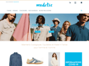 screenshot http://www.modetic.com modetic