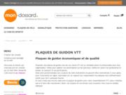 screenshot http://www.mon-dossard-vtt.com/ Dossards et plaques personnalisables en ligne