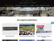 screenshot http://www.monacom.fr banderole banderoles publicitaire