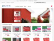 screenshot http://www.monadhesif.fr monadhesif.fr boutique de stickers muraux