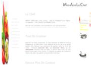 screenshot http://www.monamilechef.com mon ami le chef