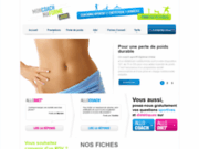 screenshot http://www.moncoachmaforme.com site de coaching sportif sur paris