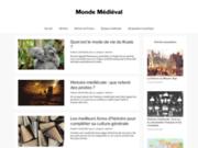 screenshot http://www.monde-medieval.com boutique medievale