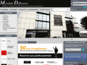 screenshot http://www.mondial-diffusion.com grossiste de marque