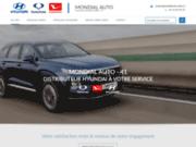 screenshot http://www.mondialauto-blois.fr/ Mondial Auto