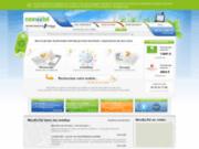 screenshot http://www.monextel.com monextel, recyclage de téléphones portables