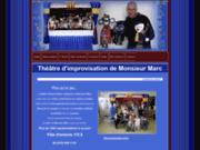 screenshot http://monsieurmarc.com monsieur marc - le théâtre d'improvisation imaginaire monsieur marc