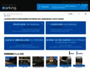 screenshot http://www.monsieurparking.com location de parking, garage, box