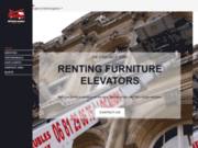 screenshot http://www.montemeubles.net location monte meubles et matériaux.