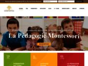 screenshot https://www.montessori-education.fr Formation Montessori en Ligne