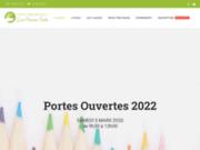 screenshot http://www.montessori-les-pouces-verts.fr ecole montessori les pouces verts