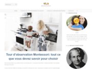 screenshot https://www.montessori-tours.fr/ Tours Montessori