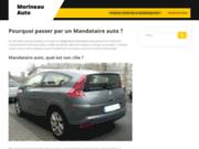 screenshot http://www.morineau-automobiles.com/ Garage Renault Dacia