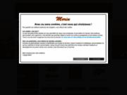 screenshot http://www.morinfrance.com accessoires pour chiens, chats et sport canin