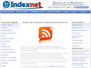screenshot http://moteurfluxrss.index-net.org/ moteur de recherche flux rss indexnet