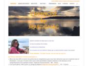 screenshot http://motsart.fr experte en hypnose Ericksonienne
