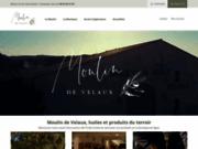 screenshot http://www.moulindevelaux.com moulin à huile de velaux